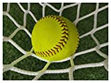 Softball Bounce Back Net, Baseball Net Practice Replacement Tennis Net Soccer Goal Nets Backstop Netting Backyard Outdoor Sports Barrier Hockey Net Rebounder, for Catching Balls Ball Stop, White
