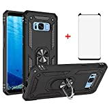 Phone Case for Samsung Galaxy S8 Plus with Tempered Glass