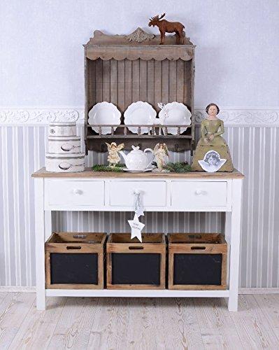 ANRICHTE Sideboard ANTIK Weiss Vintage Palazzo Exclusive