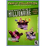Who Wants to be a Millionaire Family Bundle - Kids Edition, Sports and 3rd Edition in 1! (輸入版)