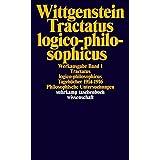 Tractatus logico-philosophicus. Tageb?cher 1914 - 1916. Philosophische Untersuchungen. by Ludwig Wittgenstein Joachim. Schulte(2002-01-01)