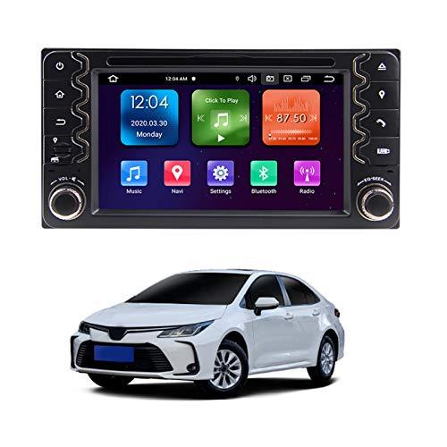 Mundodo Compatibel Met To-yota Corolla 2000-2006 4g+64g Octa-Core Multimediagps navigatie GPS Android 10.0 Hoofdeenheid Auto Radio Stereo