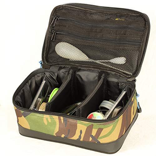 Cult Tackle DPM Bitz Bag - Bolsa para accesorios de pesca - Bolsa para accesorios de pesca - Bolsa para pesca de carpas - Bolsa para accesorios de pesca de carpas, camuflaje