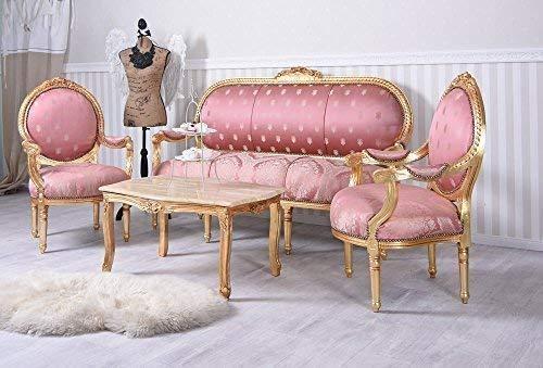 Sitzgruppe Barock Sitzgarnitur Salon Sitzmöbel Sofagarnitur Möbel Palazzo Exklusiv cat382a46
