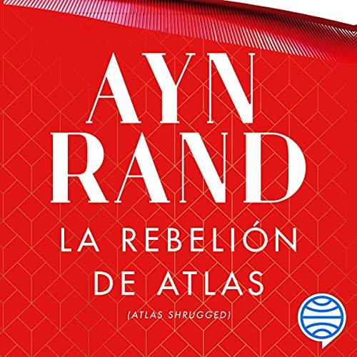 Diseño de la portada del título La rebelión de Atlas