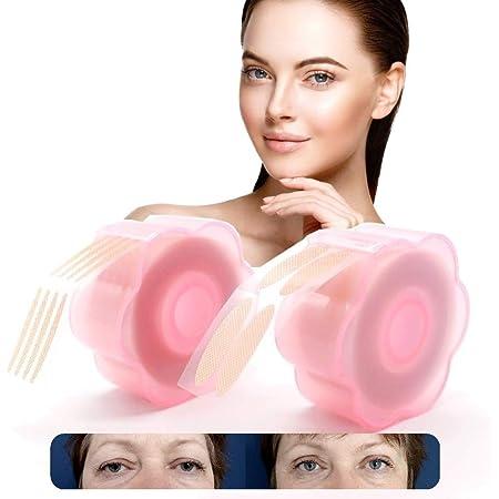 VENICCE LOVE 1.200 Stück Schlupflider Tapes | Augenlidstraffung ohne OP | Eyelid Tape | Augenlid Tape | hautfarbendes Augenlid Klebeband | Sofort Effekt Schlupflider entfernen | Augenlid Stripes