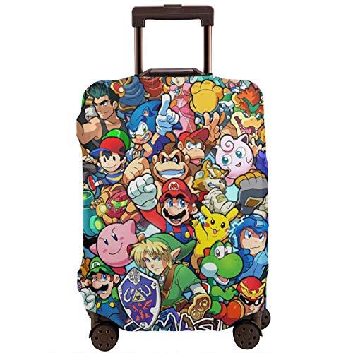 Funda para equipaje de viaje, diseño de anime The Legend of Zelda Super Mario Smash Bros Kirby