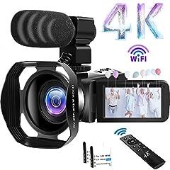Videokamera 48MP 60FPS