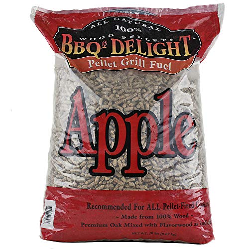 BBQR's Delight Apple Flavor Wood Smoking...