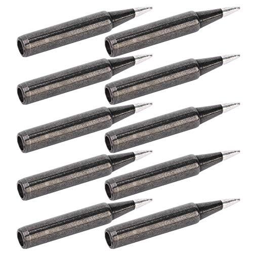 Kit de puntas de soldador de 10 piezas, punta de soldadura de...