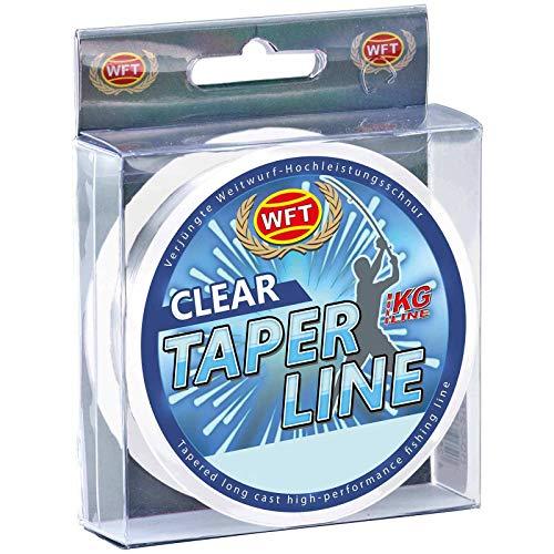 WFT Schlagschnur Brandungsangeln Taper Line 240m Clear 0,35-0,57mm