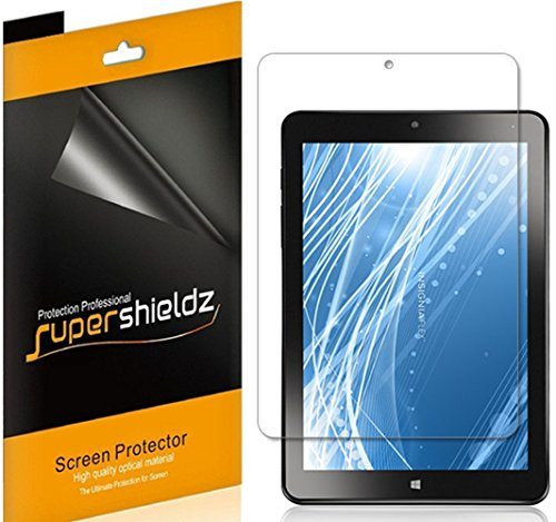 Supershieldz (3 Pack) for Insignia 8 inch Flex Tablet (NS-P08A7100) Screen Protector, High Definition Clear Shield (PET)