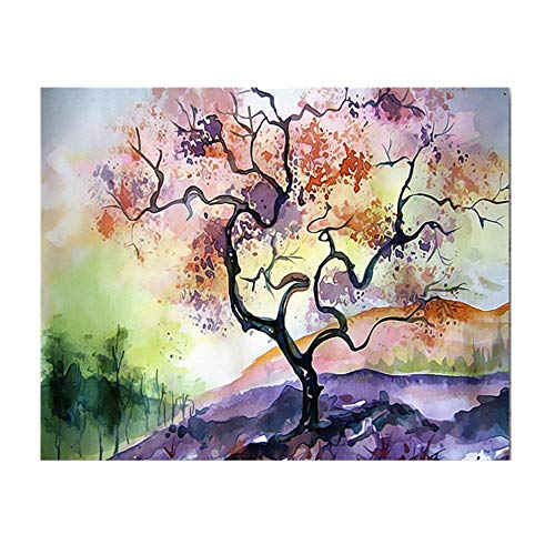 Canvas Art Printing Wall Art Canvas Abstract schilderij Landschap Tree Pop Art schilderij Wall Art Printing Canvas Woondecoratie 30X40cm