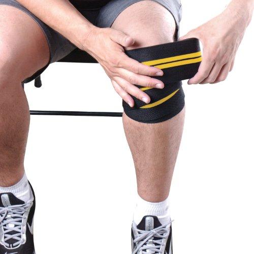 CAP Barbell Elastic Knee Wraps, Pair