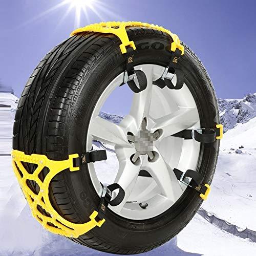 Cadenas de Nieve para neumáticos Cadenas Tamaño M del Coche del neumático de...
