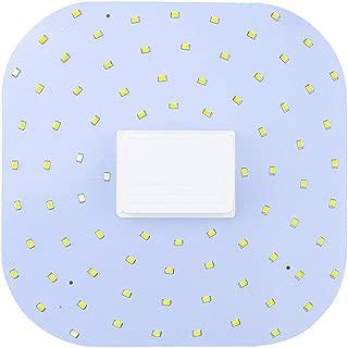 Luxvista 18W 2D 4 Pin GR10q LED Light Bulb Warm White 2D 4P Square Lights, 28W 2D GR10q-4 CFL Butterfly Light Equivalent, GR10q Base 4 Pin Ceiling Lamp for Workshop, Office Lighting (Remove Ballast)