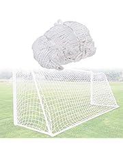 YHG Siatka do piłki nożnej, bramka piłka nożna składane podwórko bramka do piłki nożnej z siatką na każdą pogodę dla dzieci dorosłych grających na trening