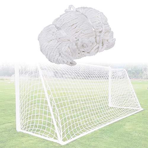 Fußballtornetz Tornetze Fußball Ersatz Fußballnetz Fußball Tor Net Fußball Torpfosten Netz für Kinder Erwachsene, die Training Spielen(2.4X1.8M)