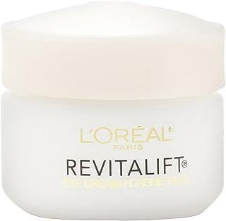 L'Oreal Paris Skincare Revitalift Anti-Wrinkle and Firming Eye Cream Treatment with Pro-Retinol Fragrance Free 0.5 oz.