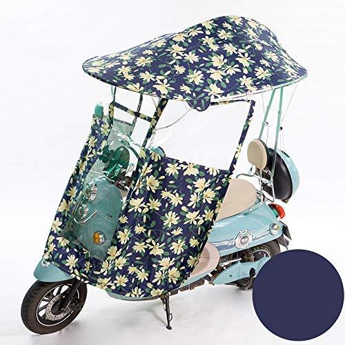 Universele buiten motorfiets regenhoes, auto motor scooter paraplu mobiliteit zonnescherm regen waterdichte hoes