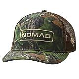 Nomad Mens Trucker Hat | Turkey Hunting Camo Hat, Hunter - Mossy Oak Shadowleaf, One Size