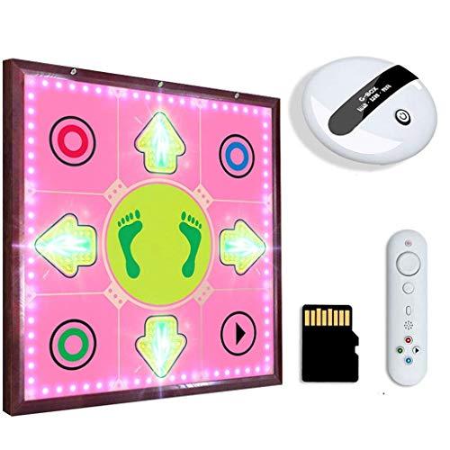 JHSHENGSHI Metalltanzmaschine Home Drahtlose Tanzdecke Single-TV-Computer Kinder-Tanzmatten mit doppeltem Verwendungszweck (Farbe: C) (Fußballspiele)