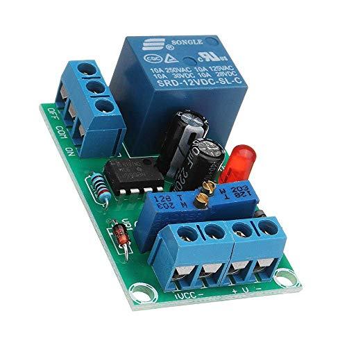 GzxLaY DIY DC 12V Batería de Carga de la Junta de Control de Sonido Cargador de Módulo de Control de Alimentación Automatonlike Interruptor Durable