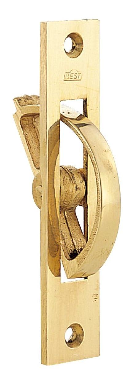 ベリー決してピストルベスト 360 全回転取手 90ミリ 黄銅磨き #360-90-2