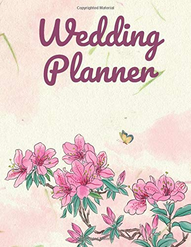 Bride Notebook: Beautiful Wedding Plannerbook With Wedding Planner Costs and Budget Organizer, Checklists, Guests Lists, Phonebook, Seating Charts and Many More!