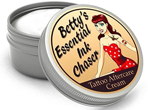 Betty's Essential Ink Chaser Crema Para Cuidado De Tatuajes Reino Unido Hecho Con Ingredientes Naturales Y Orgánicos 50 ml