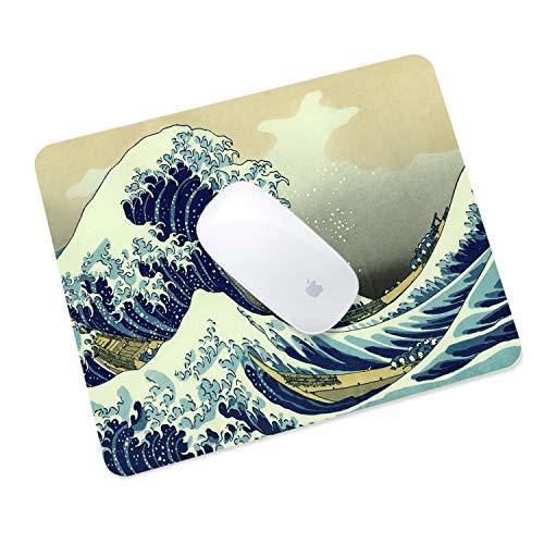 MasiBloom® Premium PU lederen muismat waterdicht antislip bureau muismat voor desktop/laptop/tablet, Apple Magic Muis, Microsoft Surface Muis, bedraden/draadloze Bluetooth-muis, Mouse Pad, Golf