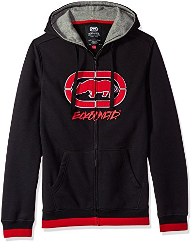 Ecko Unltd. Men's in The Midst Fz Hoodie, Black, 2XL