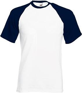 Fruit of the Loom Short Sleeve Baseball T-Shirt SS026