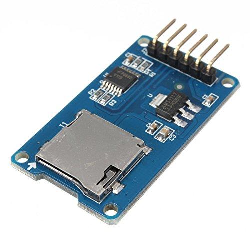 daorier Micro SD Karte Micro SDHC Mini TF Card Adapter Reader Modul 3,3V/6-Pin SPI für Arduino
