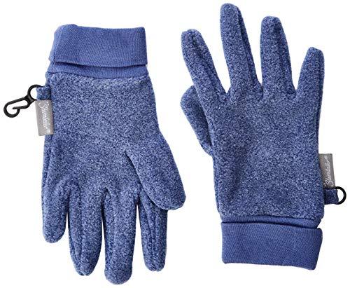 Sterntaler Jungen Fingerhandschuh Handschuhe, Blau (Tintenblau Mel. 376), 4