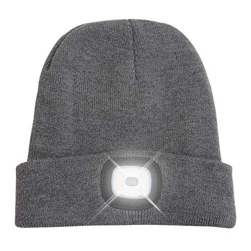 HEAD LIGHTZ Beanie Hat with Bright LED Light
