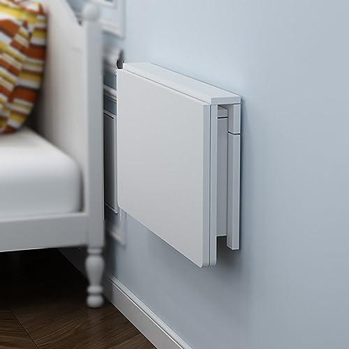 las mejores marcas venden barato Mesa plegable plegable plegable de parojo WNX Madera Maciza Mesa Plegable Mesa de Comedor Mesa de informática Mesa de Estudio Mesa de Estudio blanco (Color   100  50cm)  venta al por mayor barato