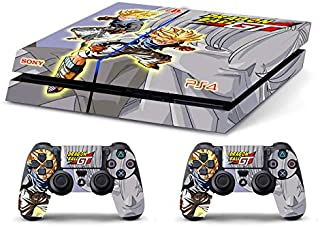 Skin Ps4 Old - DRAGONBALL GT TRUNKS - limited edition DECAL COVER ADESIVA Playstation 4 Slim SONY BUNDLE