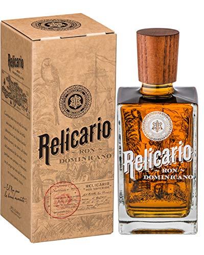 Relicario Superior Rum, Premium-Rum 40%, Ron 10 bis 15 Jahre gereift, stammt aus der Dominikanischen Republik (1 x 0.7 l)