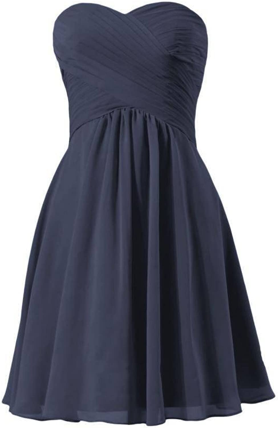 DaisyFormals reg; Short Beach Wedding Party Dress Sweetheart Prom Dress(BM2442S)