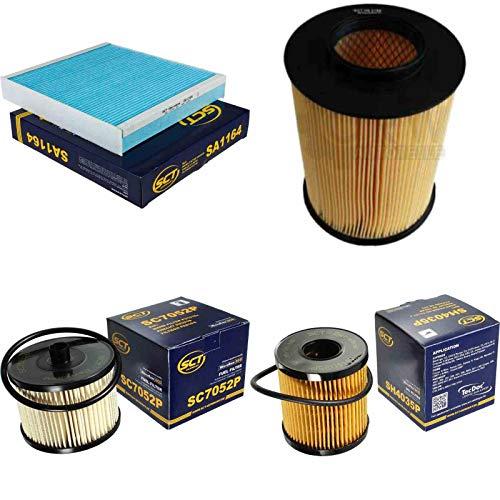 SCT Inspektions Set Inspektionspaket Innenraumfilter Kraftstofffilter Luftfilter Ölfilter