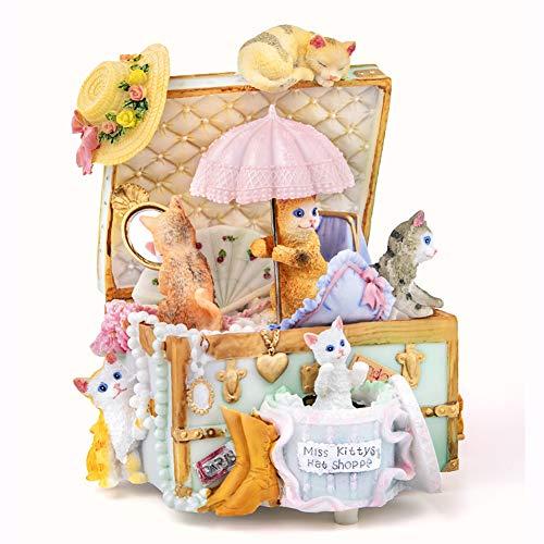 Iyom Spieluhr, Musical Box, reines Hand Classical Music Box zur Tochter/Sohn, besten Handgefertigte Geschenke für Weihnachten, Valentinstag, Geburtstag, Urlaub Geschenke,Canon