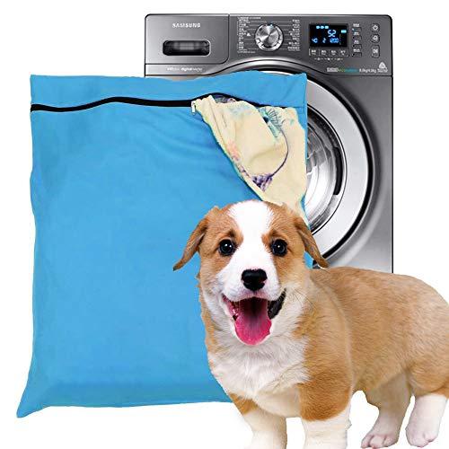 Bolsa de lavandería para mascotas, filtros azules, para el