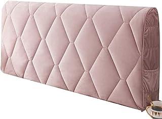 SetSailW 150/135/140cm Funda Cabeceros para De Cama/Cubierta para Cabecero De Cama, A Prueba De Polvo, Protector De Cabeza De Cama para La Decoración Dormitorio,Pink-190cm