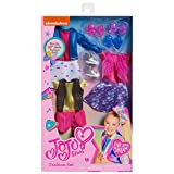 JoJo Siwa Multipack Outfits for 10-Inch JoJo Fashion Dolls, Includes 3 Outfits and 3 Bow Barrettes, Amazon Exclusive
