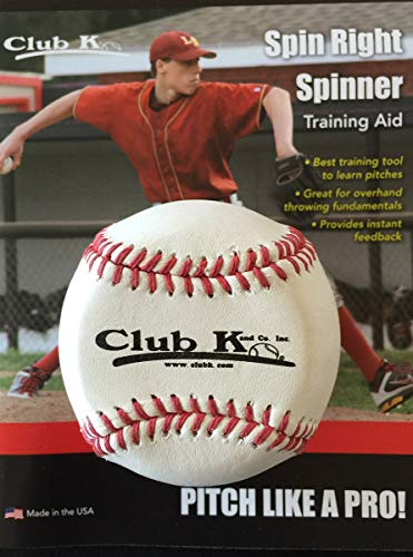 Maximum Velocity Sports - Throw Like a Pro Training Device - Spin Right Spinner (Baseball Spin Right Spinner)