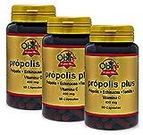 Obire Própolis plus 400 mg - 90 cápsulas (Pack 3 Unidades)