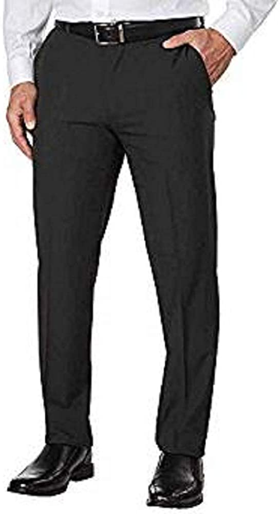 IZOD Men's Max 49% OFF Performance Stretch Straight Pant 34 Charcoal Store Dress