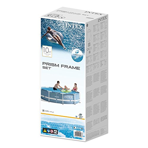 INTEX Kit piscine tubulaire ronde Prism Frame 3,05 x 0,76 m