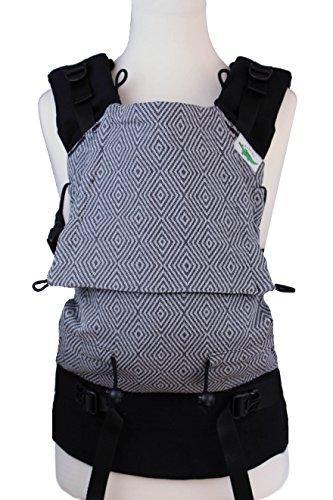 Buzzidil Diamond Dust Mochila Portabebé Ergonomica para Recién Nacido | Babysize acompaña el crecimiento 0 a 18 meses | portabebé con hebillas